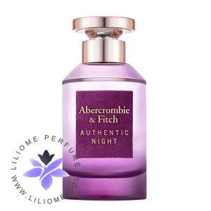 عطر ادکلن ابرکرومبی اند فیچ اتنتیک نایت فمه | Abercrombie & Fitch Authentic Night Femme