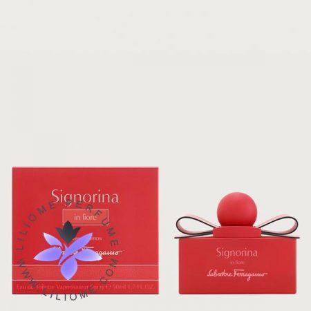 عطر ادکلن سالواتوره فراگامو سیگنورینا این فیور فشن ادیشن   Salvatore Ferragamo Signorina In Fiore Fashion Edition