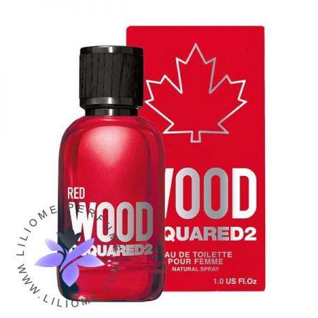 عطر ادکلن دی اسکورد رد وود قرمز | DSQUARED² Red Wood