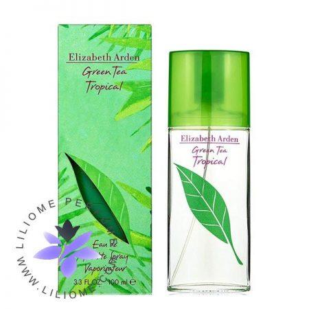 عطر ادکلن الیزابت آردن گرین تی تروپیکال | Elizabeth Arden Green Tea Tropical