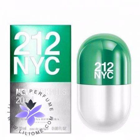 عطر ادکلن کارولینا هررا 212 ان وای سی پیلز زنانه   Carolina Herrera 212 NYC Pills for women
