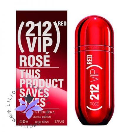 عطر ادکلن کارولینا هررا 212 وی آی پی رز رد   Carolina Herrera 212 VIP Rosé Red